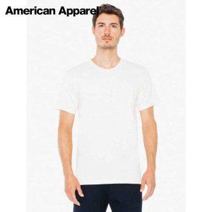 American Apparel 2001ORGW 4.3o 成人優質有機棉 T 恤 (美國尺碼)