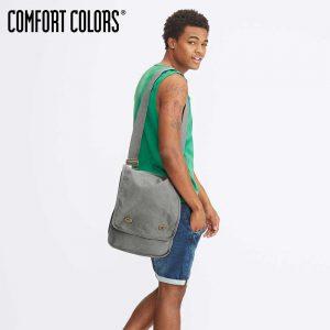 COMFORT COLORS 343 純棉側背帆布袋