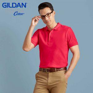 Gildan 83800 6.3oz 成人雙珠地 POLO 衫