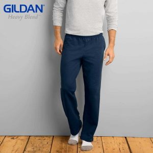 Gildan 88400 8.0oz HEAVY BLEND Adult Open Bottom Sweatpants