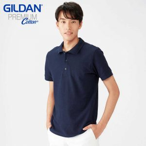 Gildan 6800 Cotton Double Pique Polo Shirt